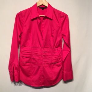 Antonio Melani Size Small Blouse Pleated Waist